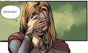 Quick Shot: Social Justice Celebrity vs. Supergirl
